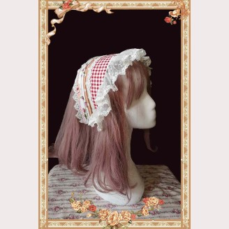 Infanta Strawberry Lolita Headscarf KC