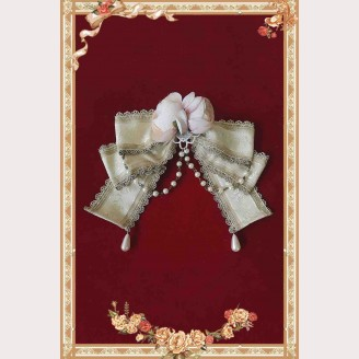 Infanta flower bow lolita brooch (IN824)