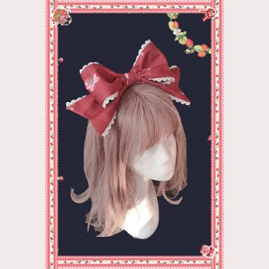 Infanta Strawberry Buffet Headbow KC (IN955)