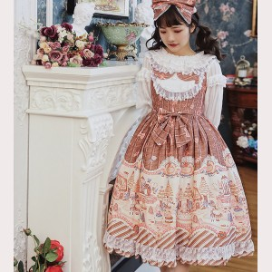 Infanta Witch' s Candy House Sweet Lolita Dress JSK (IN961)