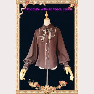 Infanta Chocolate Sauce Lolita Blouse (IN963)