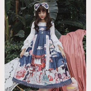 Infanta Monster Record Lolita Dress JSK (IN964)