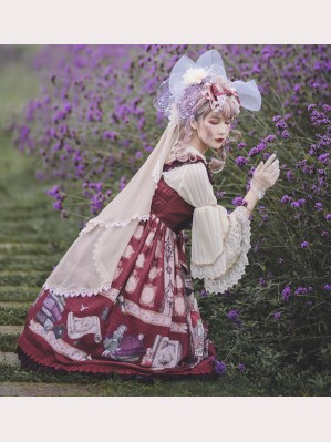 Infanta Mother Goose Nursery Rhymes Lolita Veil (IN868)