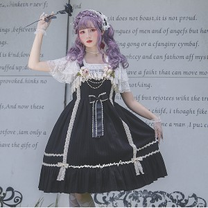 Infanta Elena's Pledge Lolita Dress JSK (IN871)
