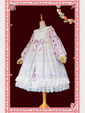 Infanta Chiffon 2 Ways Lolita Overdress (IN877)