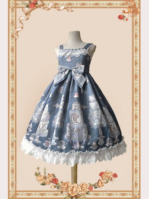 Infanta Cake Salon Classic Lolita Dress Daily JSK (IN878)