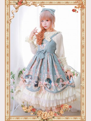 Infanta Little Lady 's Portrait Lolita Dress JSK (IN885)