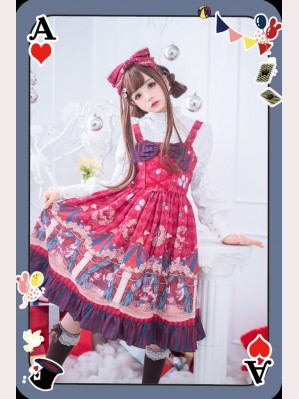 Infanta Circus Sweet Lolita Dress JSK (IN890)