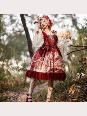 Infanta Beauty and The Beast Lolita Dress JSK (IN895)