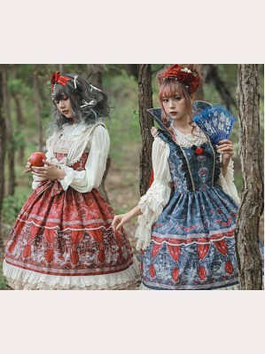 Infanta Poison Apple and Cinderella Lolita Dress JSK (IN905)