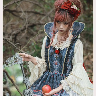 Infanta Poison Apple and Cinderella Matching Queen Ruff (IN906)