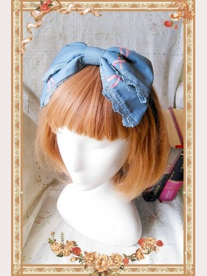 Infanta Picnic Rabbit Sweet Lolita Headbow KC