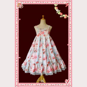 Infanta All About Strawberries Sweet Lolita Dress JSK (IN860)