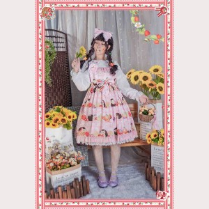Infanta Little Hedgehog Lolita Dress JSK (IN863)