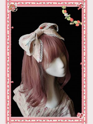 Infanta Little Hedgehog Sweet Lolita Headbow KC (IN864)