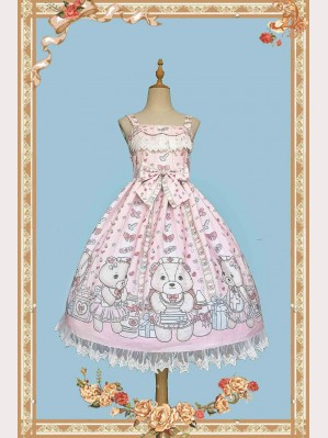 Infanta Nurse Bear Lolita Dress JSK (IN862)