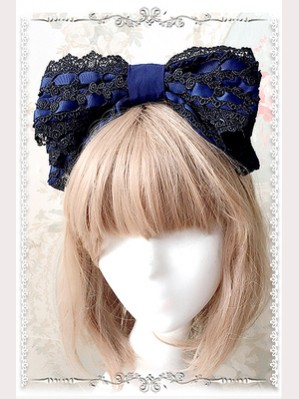 Infanta Lace Classi Lolita Headbow KC (IN950)