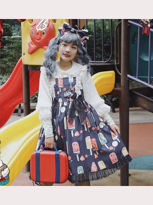 Infanta Fruit Popsicle Lolita Dress JSK (IN952)