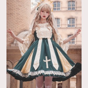 Infanta Rest of Heaven Gothic Lolita Dress JSK (IN943)
