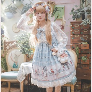 Infanta Little Tea Party Lolita Dress OP (IN931)