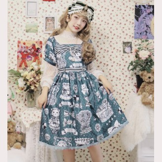 Infanta Gift Bear Sweet Lolita Dress OP (IN937)
