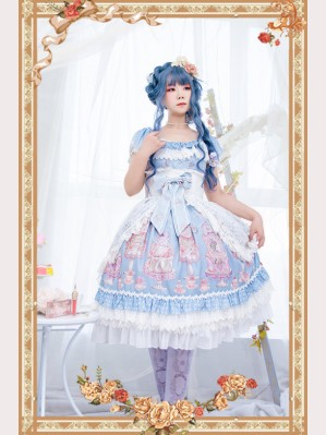 Infanta Cake Salon Classic Lolita Dress JSK (IN939)