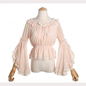 Lolita Hime Sleeve Crop Top Blouse (KJ20)