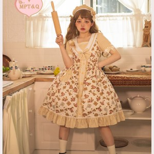 Magic Tea Party Angie's Little Bear Lolita Dress OP (MP113)