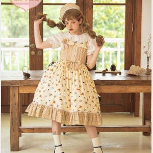 Magic Tea Party Angie's Little Bear Lolita Dress JSK (MP115)