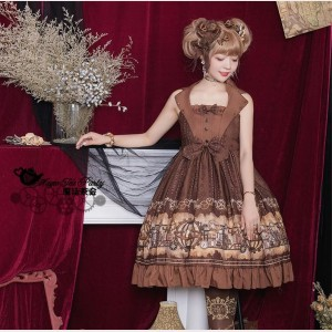 Magic Tea Party Mechanical Light Year Lolita Dress JSK (MP103)