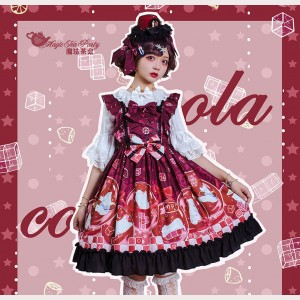 Magic Tea Party Summer of White Bear Lolita Dress JSK (MP110)