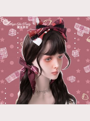 Magic Tea Party Summer of White Bear Lolita Hair Accessories (MP111)