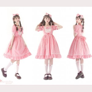 Magic Tea Party Sweet Heart Lolita Dress OP (MP73)