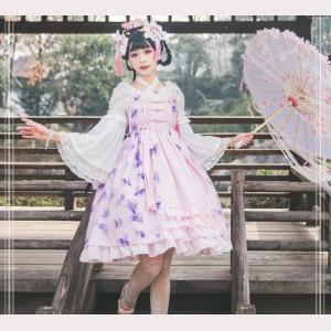 Magic Tea Party Fish in Dream Chinese Style Lolita Dress JSK (MP76)