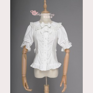 Magic Tea Party Classic Sweet Lolita Blouse (MP82)