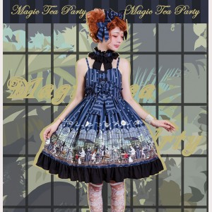 Magic Tea Party Garden Restaurant Lolita Dress JSK (MP89)