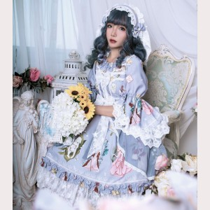 Magic Tea Party Little Ida' s Flowers Lolita Dress OP (MP99)