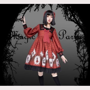 Magic tea party And Then There Were None Gothic Lolita Style Dress OP (MP03)