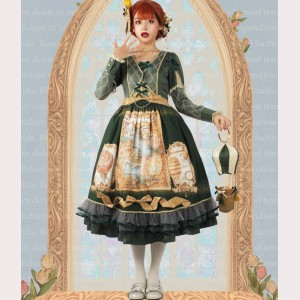 Magic tea party Tulip Escape Classic Lolita Style Dress OP (MP08)