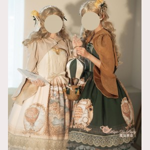 Magic tea party Tulip Escape Classic Lolita Style Cape (MP10)