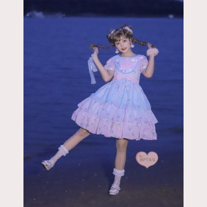 Magic Tea Party Summer Aroma Sweet Lolita Dress OP (MP120)
