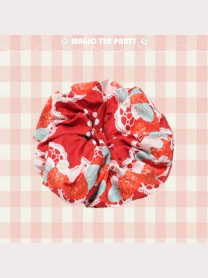 Magic Tea Party Strawberry Sheep Lolita Hair Tie (MP123)
