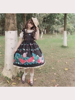 Clearance Sale! Watermelon Sweet Lolita Dress JSK (FB39)