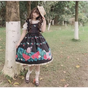 Watermelon Sweet Lolita Dress JSK (FB39)