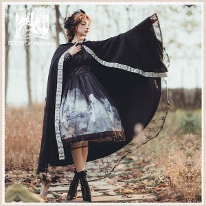 Winter Tour Lolita Cloak by Cat Highness (CH07)