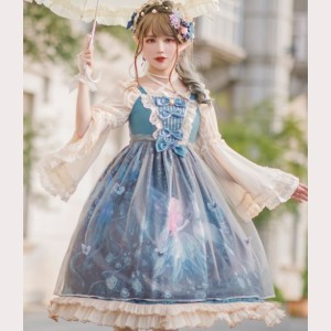 Moonlit Forest Classic Lolita Dress JSK (KJ09)