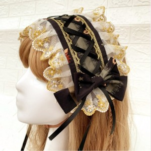 Heart Of Time Machine Lolita Headband KC (KJ11)