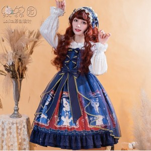 The Cat Lady Lolita Style Dress JSK (KJ14)