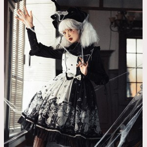 The Crown Gothic Lolita Style Dress JSK (LS01)