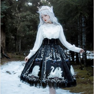 The Swan Lolita Style Skirt SK (LSK02)